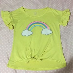 Shirt with rainbow